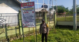 Bhabinkamtibmas Polsek Kembang Tanjong Melaksanakan Saweu Gampong Tangguh