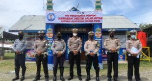 Diterima Kasat Lantas, Tim Supervisi Subditkamsel Ditlantas Polda Aceh