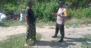 Personil Polsek Batee Melaksanakan Patroli Dialogis Dan Himbauan Selalu Menggunakan Masker