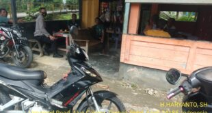 Kapolsek Tangse Melaksanakan Sosialisasi dan Pengarahan Kepada Warga Alue Calong Dalam Pencegahan Covid 19